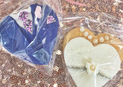 Bride & Groom Cookie